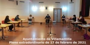 Vídeo del Pleno extraordinario del Ayuntamiento de Villamantilla - 17 de febrero de 2021