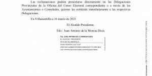 Exposición listas electorales