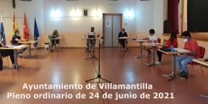 Pleno ordinario del Ayuntamiento de Villamantilla - 24 de junio de 2021